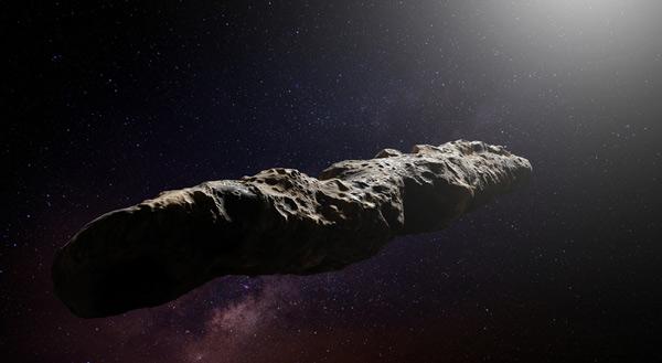 Oumuamua cometa