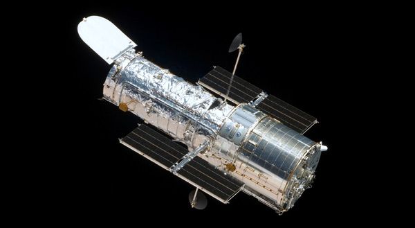 Foto del telescopio espacial Hubble de la NASA tomada durante la quinta misión de mantenimiento en 2009.