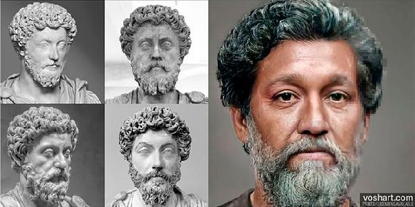 Inteligencia Artificial: así era el rostro de los emperadores romanos - 2