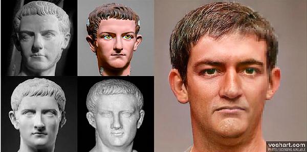 Inteligencia Artificial: así era el rostro de los emperadores romanos - 4