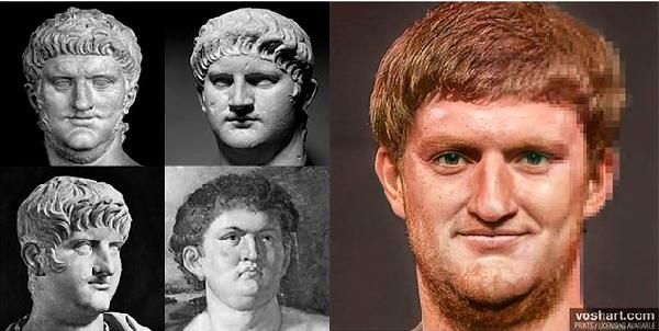Inteligencia Artificial: así era el rostro de los emperadores romanos - 6