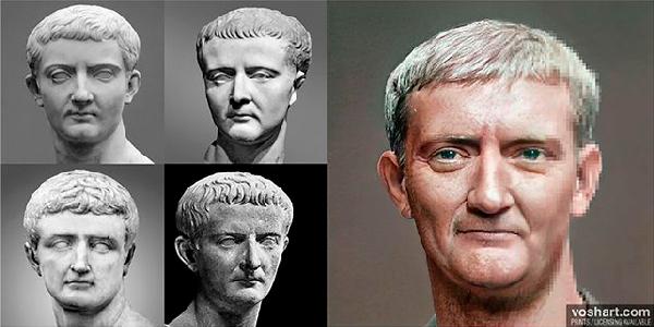 Inteligencia Artificial: así era el rostro de los emperadores romanos - 3