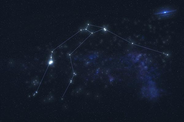 Constelación de Acuario.