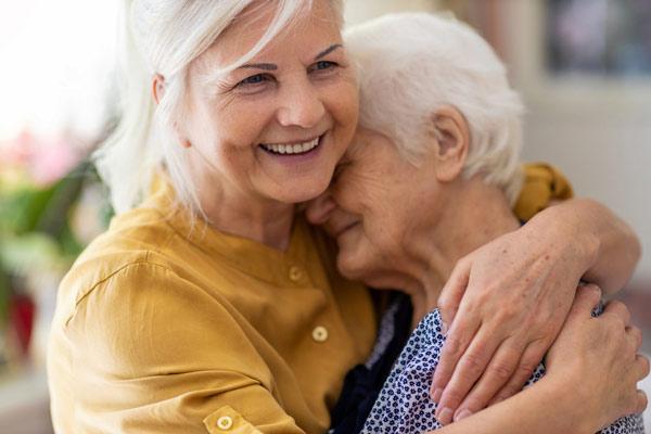 Mujeres longevas.
