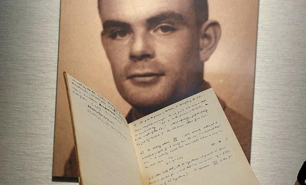 El manuscrito data de 1942, cuando Alan Turing intentaba descifrar los códigos secretos utilizados por la Alemania nazi.