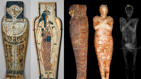 El extraordinario hallazgo de una momia egipcia embarazada - 1