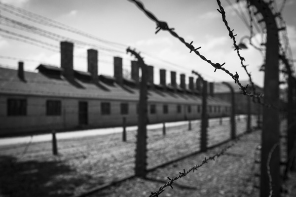 Campo de concentración de Auschwitz.