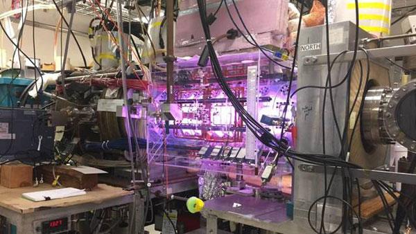 Experimento con plasma en Laboratorio de Princeton