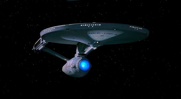 «USS Enterprise», una nave impulsada por la antimateria.