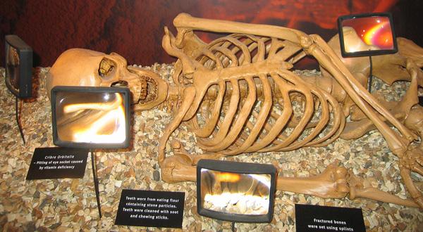 Esqueleto encontrado en Newgrange.