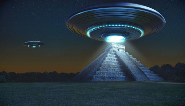 Pirámides mayas: ¿objetivo de los Ovnis? - 1