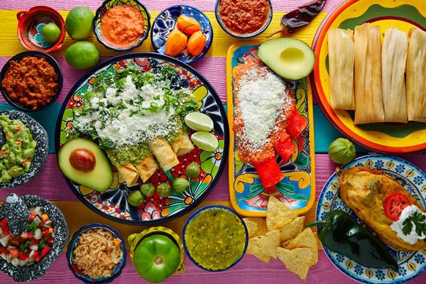 Platillos mexicanos.