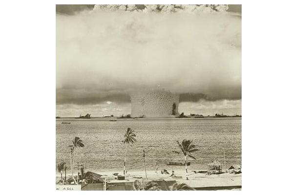 Helen: la primera bomba atómica detonada bajo del agua - 1