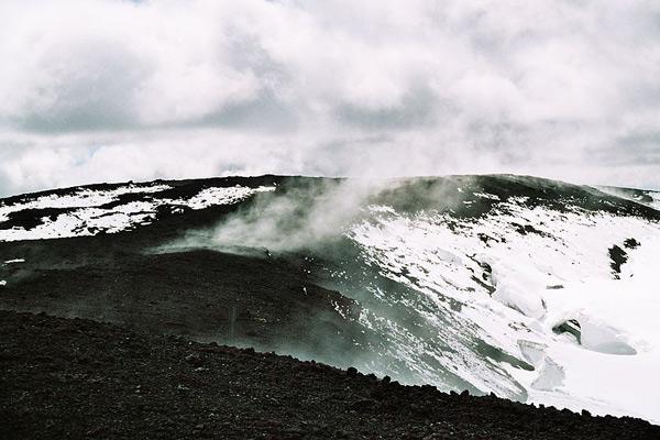 El volcán Hekla.
