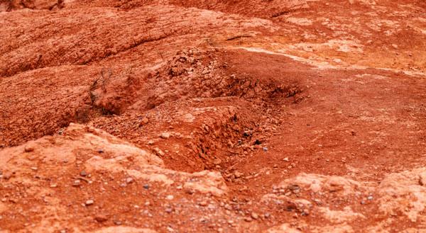 Suelo marciano.