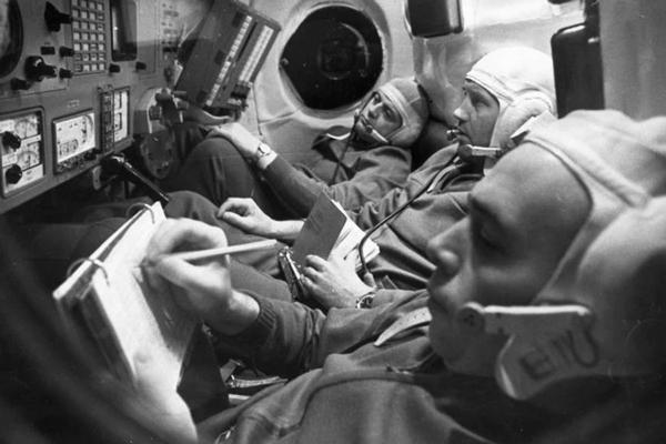 Los astronautas que viajaban al espacio sin protección y sin oxígeno de emergencia