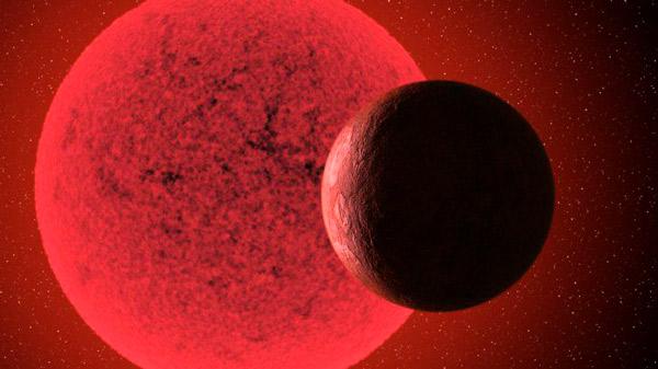 Nuevo mundo, descubierto, orbita alrededor de una estrella congelada.