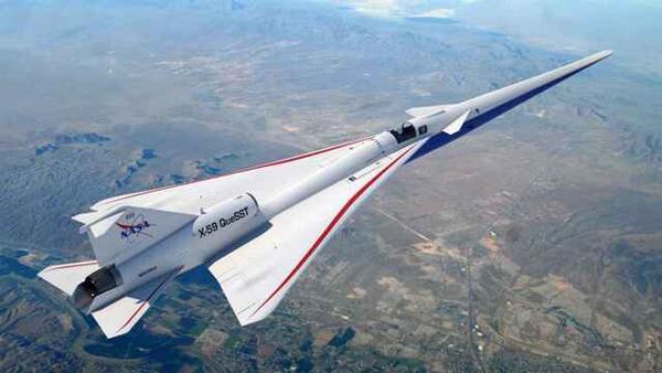 Avión X-59.