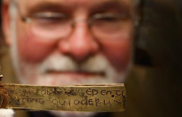 Barra de oro del mayor descubrimiento arquelógico anglosajón de la historia.