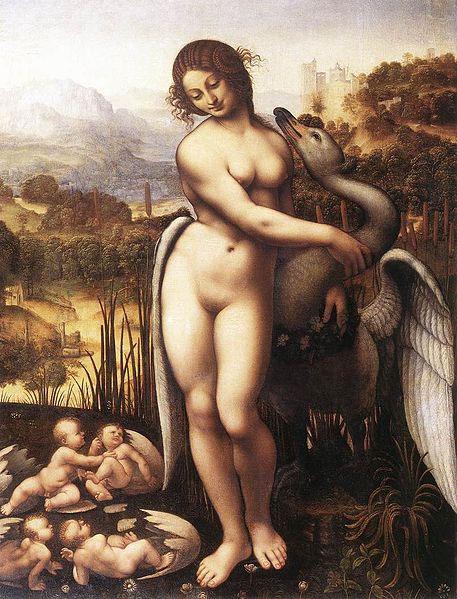 pompeya-fresco-leda